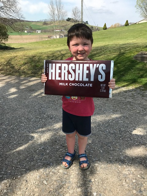 Jack and the chocolate bar