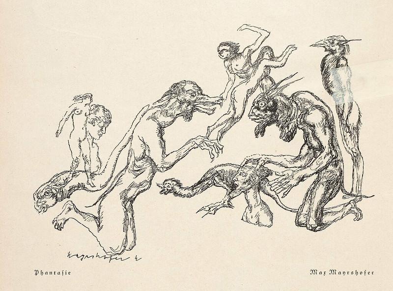Max Mayrshofer - Phantasie, 1930