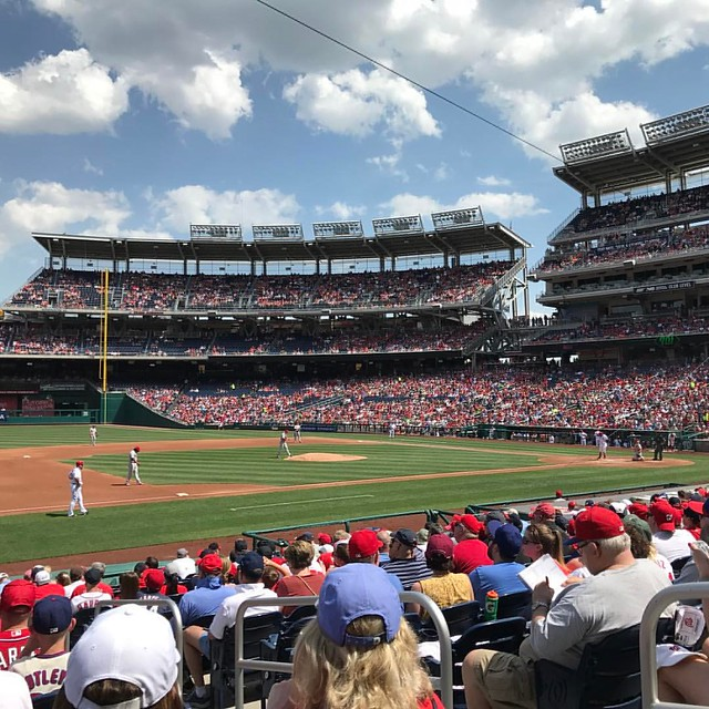 Nationals versus Phillies