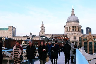 11 Dec 2016: Millennium Bridge | London, England_ | by go.awaylobster.com