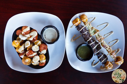 Pinchos: Steak and Chicken
