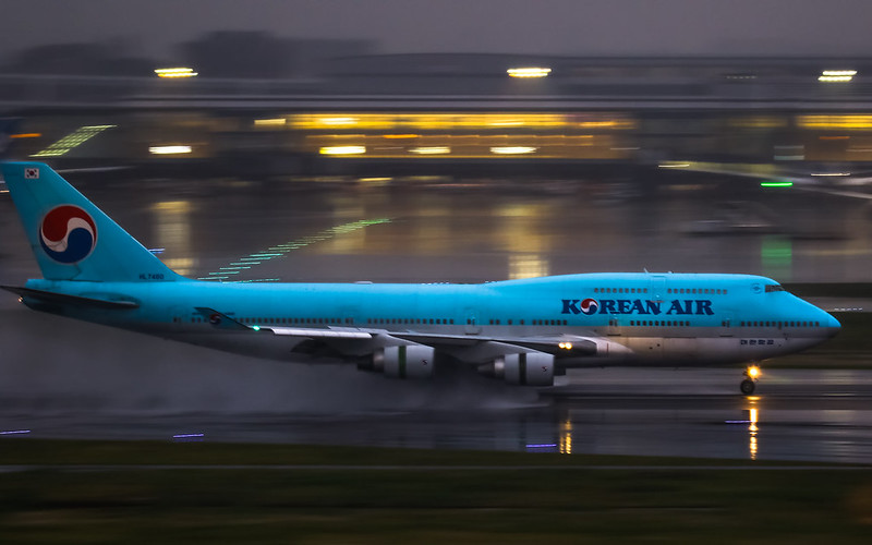 HL7480 Korean Air 大韓航空 Boeing 747-400