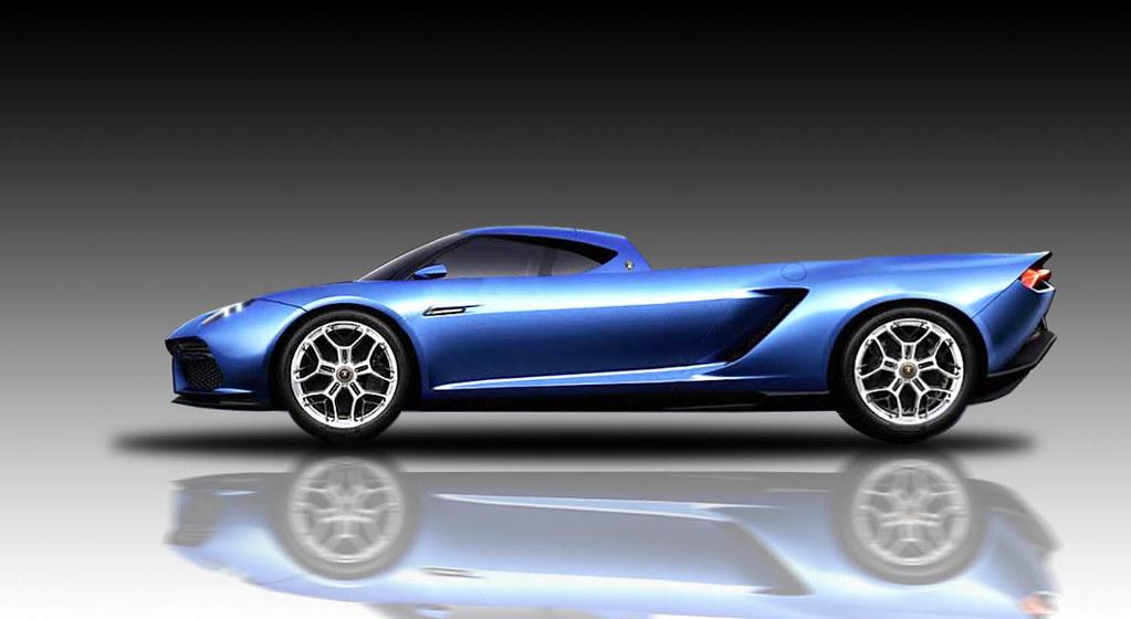 2014 Lamborghini Asterion Pickup Concept Jim Hoagland Flickr