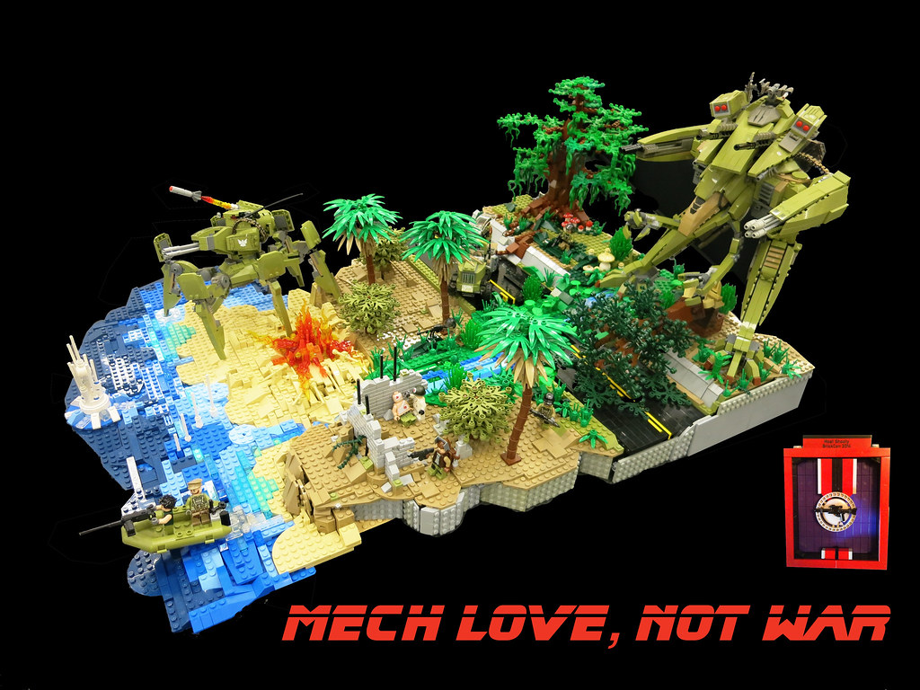 MECH LOVE, NOT WAR | My contribution to the MECHA category ...