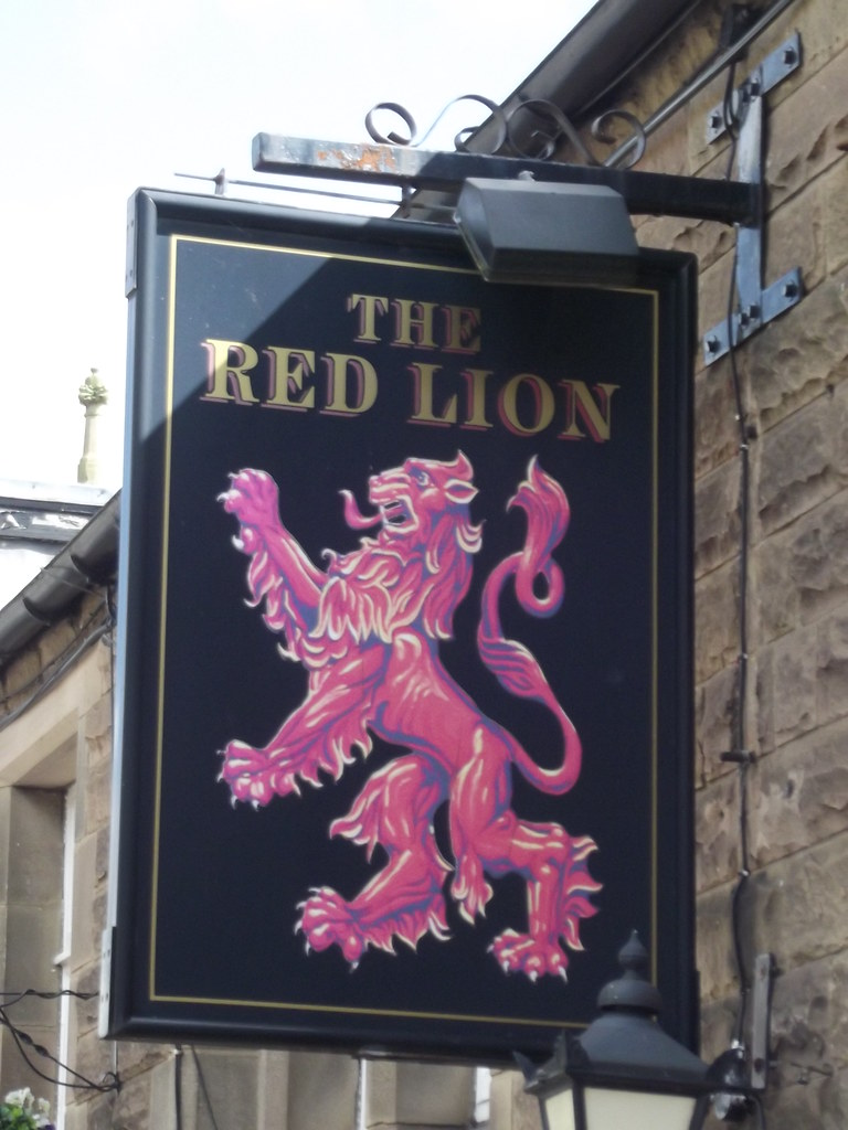 The Red Lion Rutland Square Bakewell Pub Sign Flickr