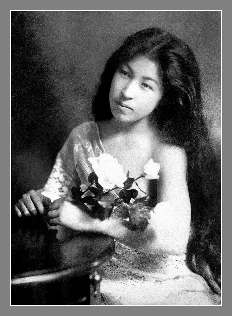A beautiful geisha with a bbc mh - 2 5