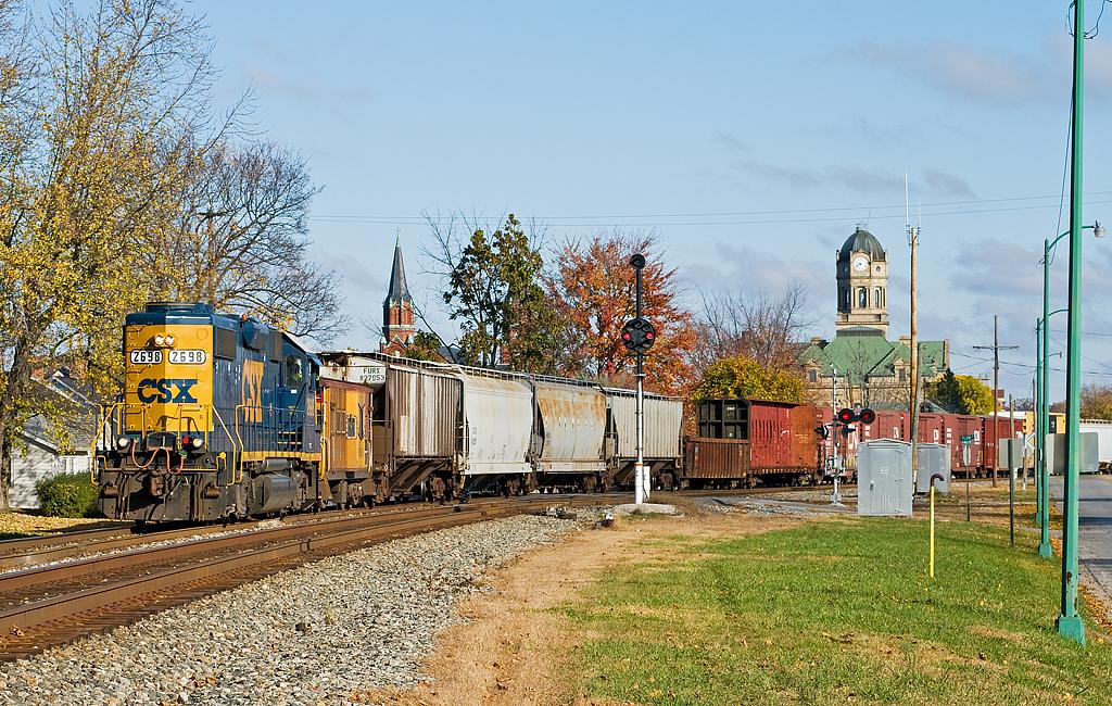 Csxt 2698 Csx Toledo Subdivision Wapakoneta Ohio Flickr