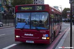 Dennis Dart Plaxton Pointer - LK55 KLV - DLD702 - Metroline - King's Cross London - 140926 - Steven Gray - IMG_0378