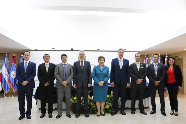 Alemania reafirma su apoyo al SICA y el BCIE