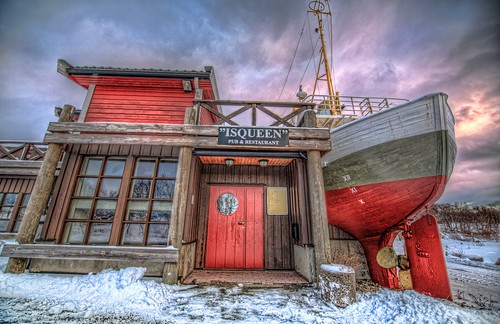 A restaurant. Epic Photos from Northern Norway by Benny Høynes
