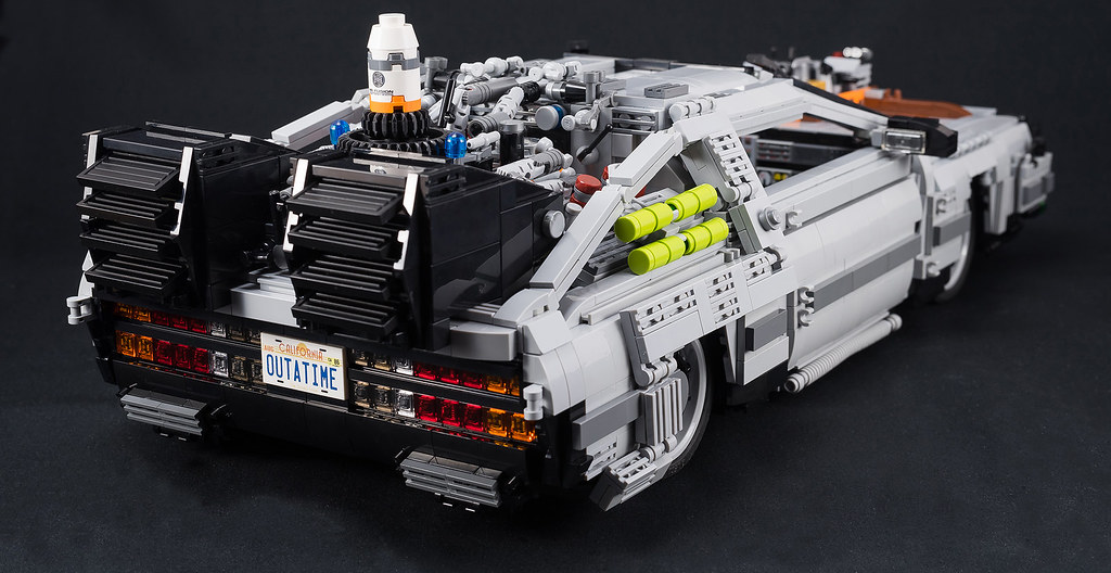 Lego Back To The Future Delorean Delorean Of Movie