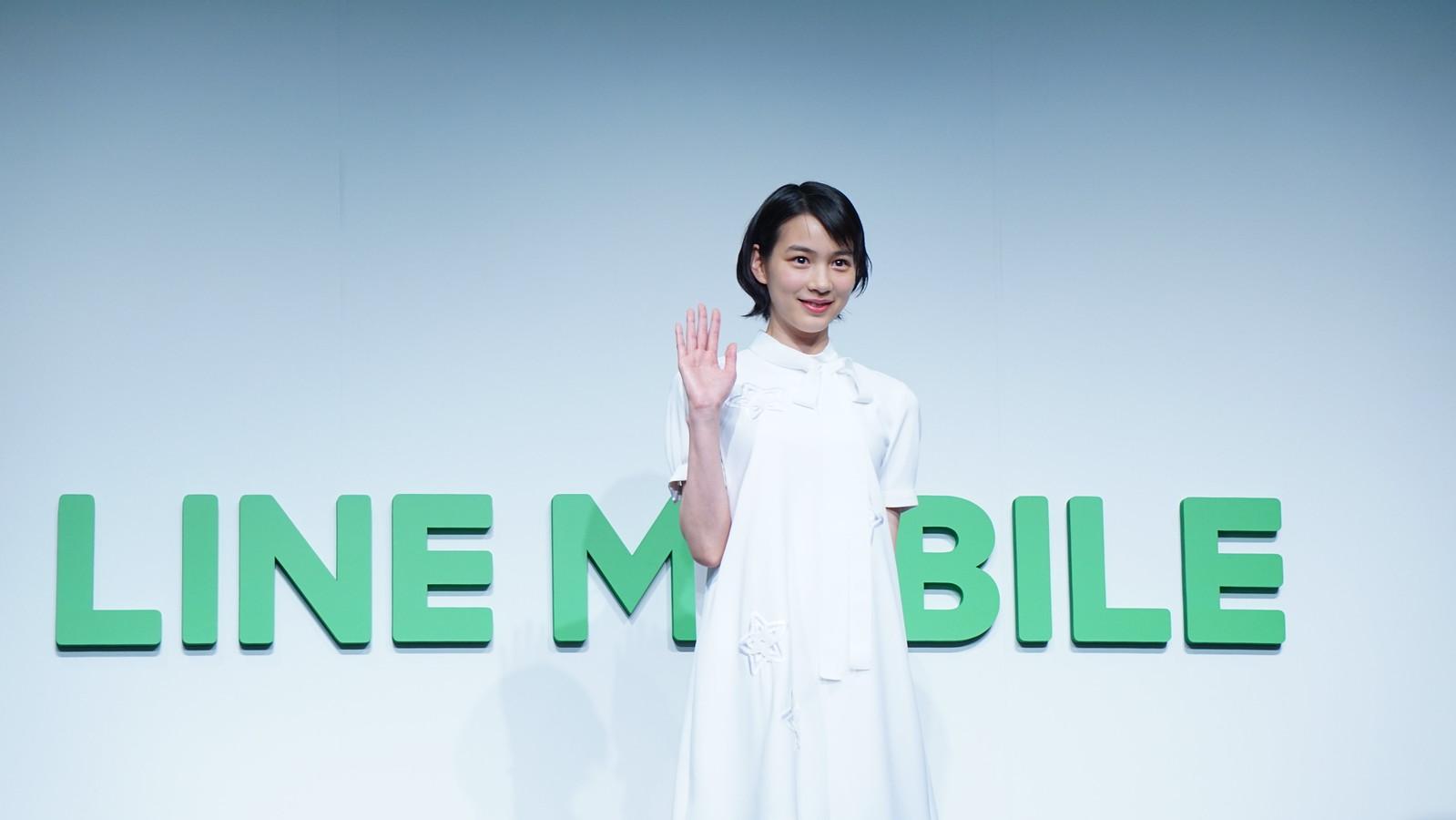 LINEモバイル、のん(能年玲奈)を起用したテレビCMを3月15日より放送開始