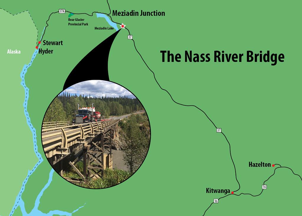 Highway 37 Nass River Bridge