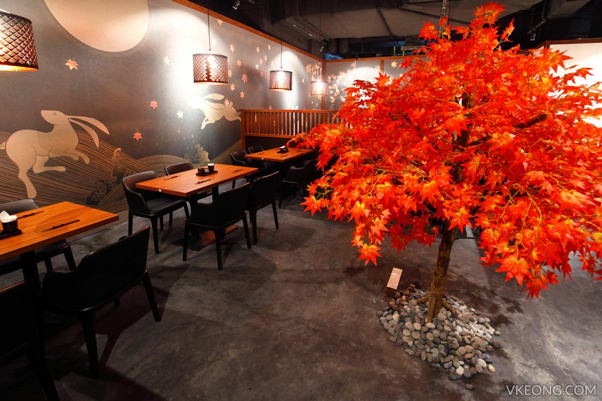 Aragan Yokocho Autumn Seating Area