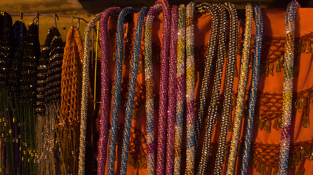 Sequin canes in Khan El-Khalili
