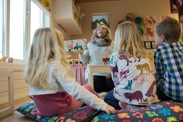 Slik blir studentar positive til nynorske bøker i barnehagen