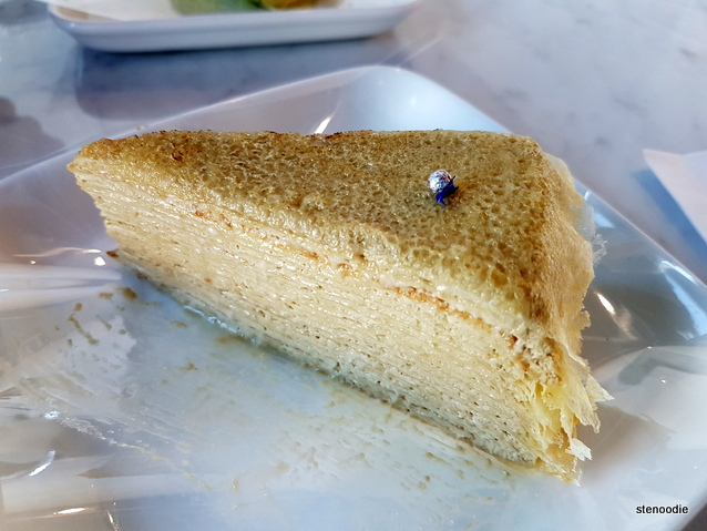 Earl Grey Mille Crêpe cake