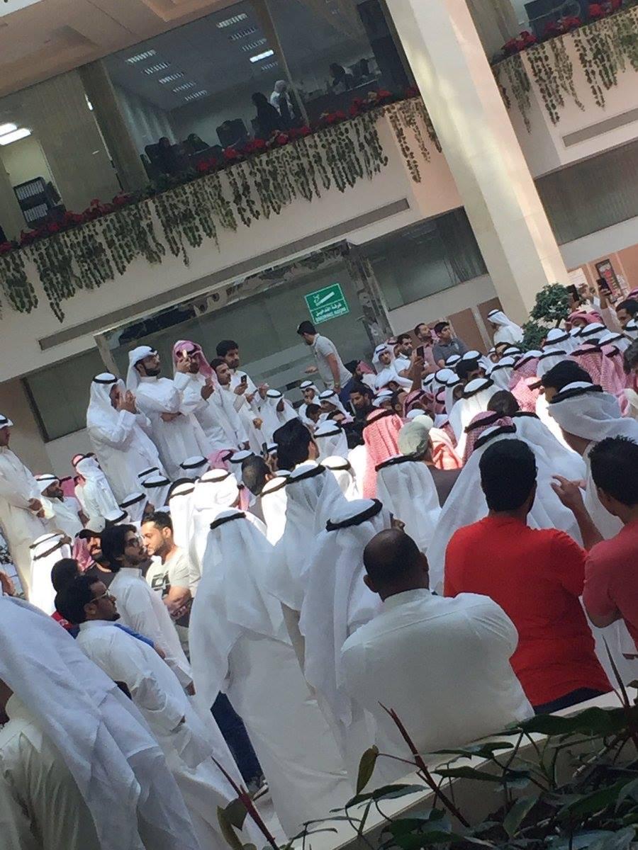 اعتصام الماء والكهرباء الكويت  (7)