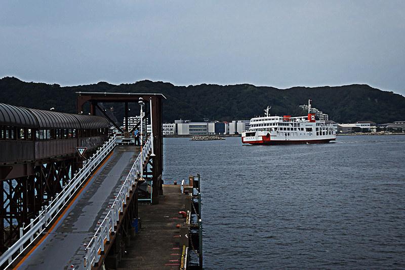三崎巡り 久里浜港