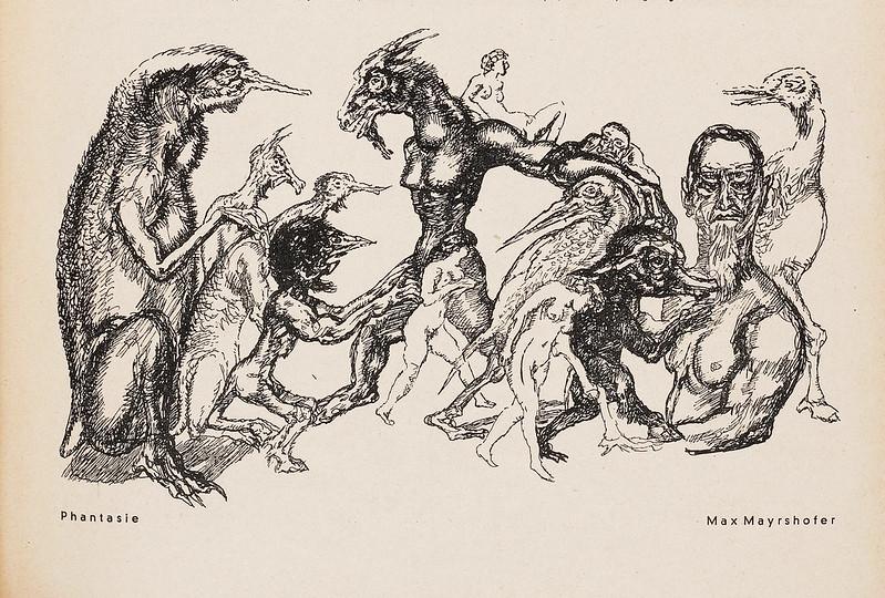 Max Mayrshofer - Phantasie, 1936