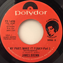 JAMES BROWN:MY PART:MAKE IT FUNKY(LABEL SIDE-A)