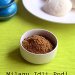 Pepper idli podi - Milagu podi for idli,dosa