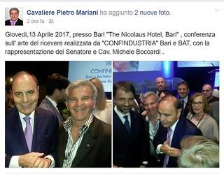 Michele Boccardi e Mariani, l'eccellenza turese da Vespa