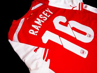 FKZ17018   ARSENAL HOME 2014-15   #16 RAMSEY