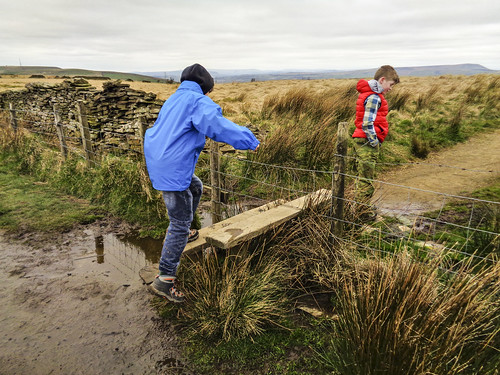 Crossing at a stile