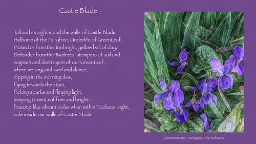 Castle Blade GloPoWriMo 41817 neologisms | by teach.eagle