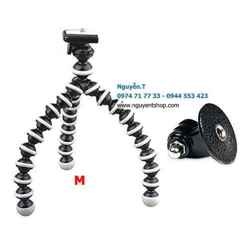 Chân xoắn bạch tuộc GoPro Flexible tripod M