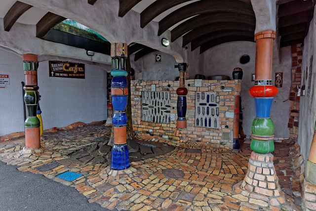 Hundertwasser public toilet