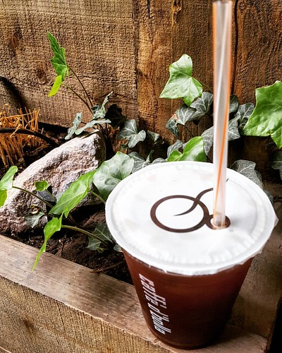 Warm weather is upon us. Come and enjoy a delicious and refreshing iced Americano today! Tag a friend who would love one, too. 🌞❄💕