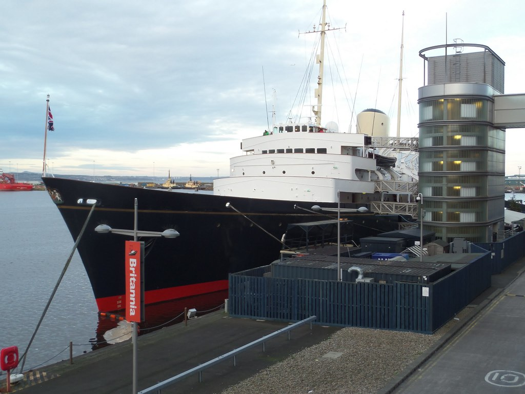Royal Yacht Britannia, Leith, Edinburgh