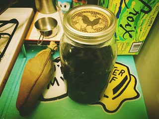 Nothin quite like making your own cold brew coffee concentrate. Even with higher quality coffee, I get a week's worth of kickass caffeine for about $5 | by Chris Novus