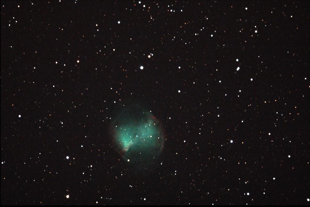 M27 - Dumbbell Nebula | Famous planetary nebula in ...
