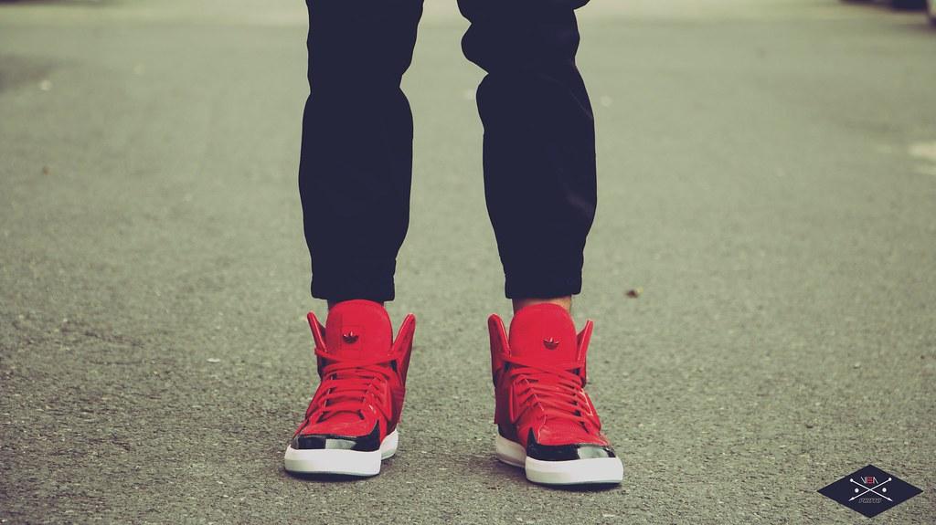 adidas c-10 red