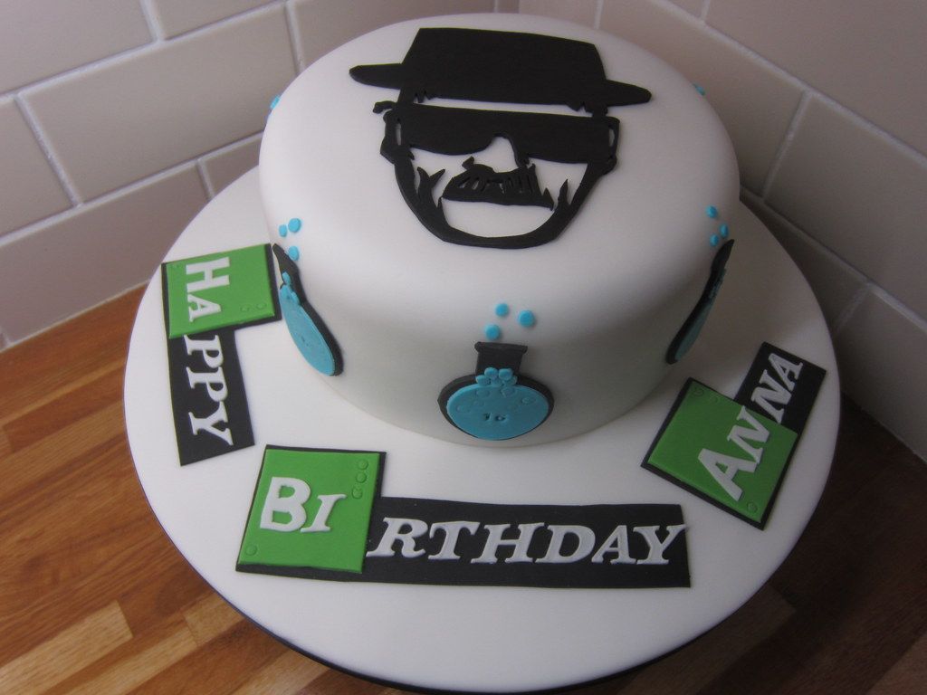 Breaking Bad Birthday Cakes Breaking Bad Birthday Cake
