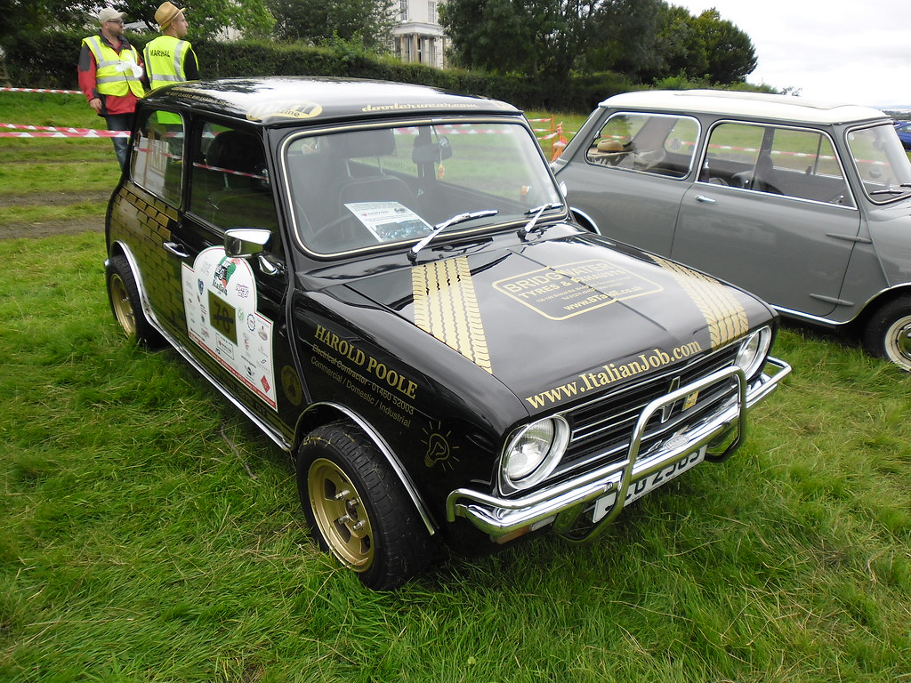 by 1977 Leyland Mini Clubman -- Henlade, 02-09-12.   by