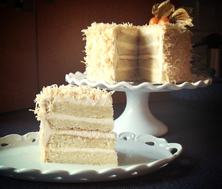 Coconut Layer Cake | by ComeUndone