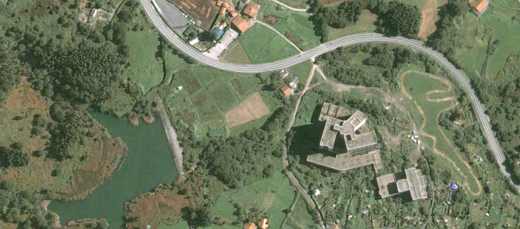 hospital de leioa, bizkaia, antes se decía lejona, antes, urbanismo, planeamiento, urbano, desastre, urbanístico, construcción