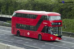 Wrightbus NRM NBFL - LTZ 1215 - LT215 - 357 EL Trade Plates - Luton M1 J10 - 140422 - Steven Gray - IMG_8103