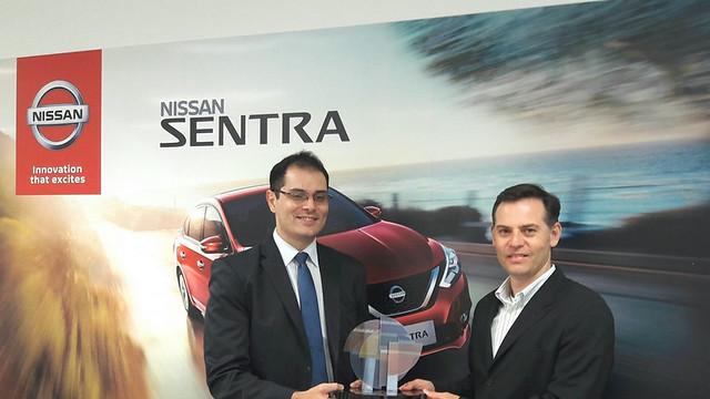 Nissan Sentra - Prêmio CESVI