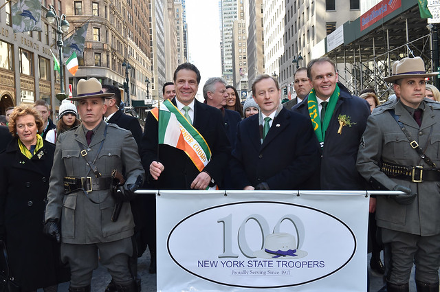 Governor Cuomo and Ireland Prime Minister Enda Kenny