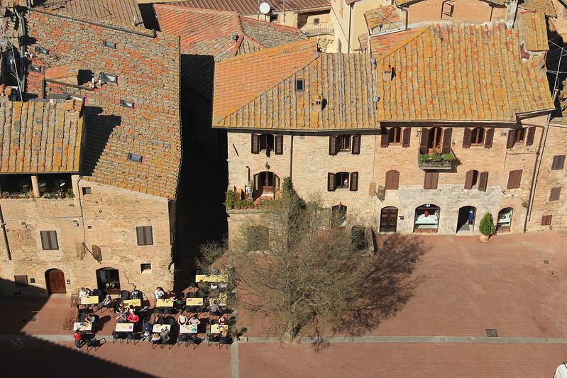 Caffe Delle Erbe, San Gimignano