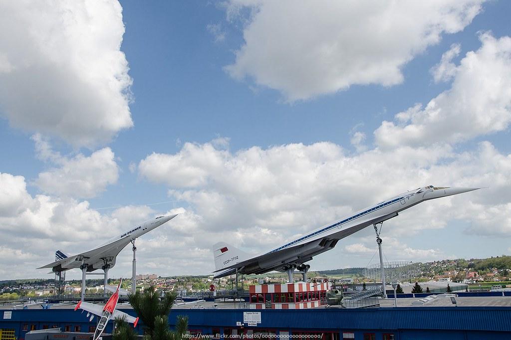 Concord & Tu-144 | Location: Sinsheim, Germany | Danny Chan | Flickr