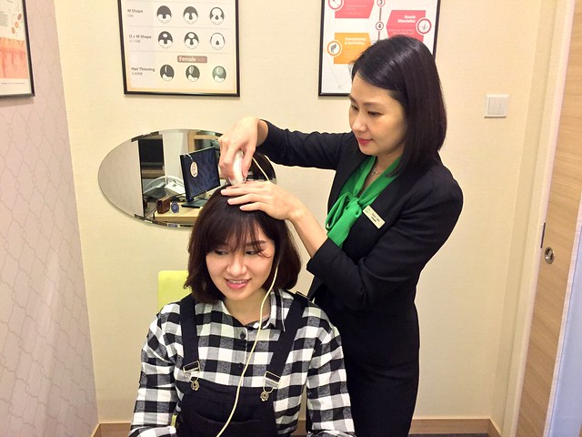 Beijing 101: Scalp Check-Up