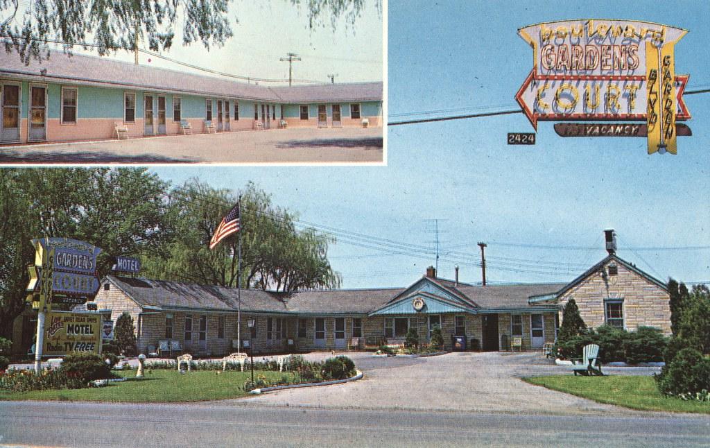 Boulevard Gardens Motel Court - Tonawanda, New York