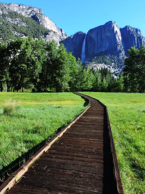 Stunning Waterfalls From The US: Yosemite Falls, Yosemite National Park, California