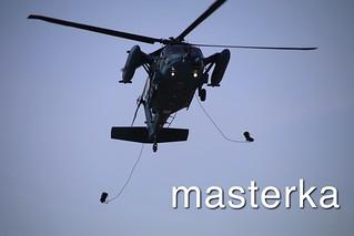 ヘリコプター落下